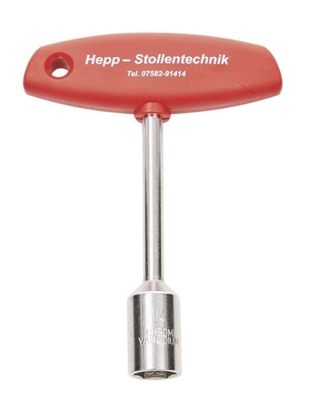 HEPP® Steckschlüssel 6-Kant SW 14 mm