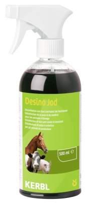 KERBL Desinfektionsspray Desino Jod*, 500 ml