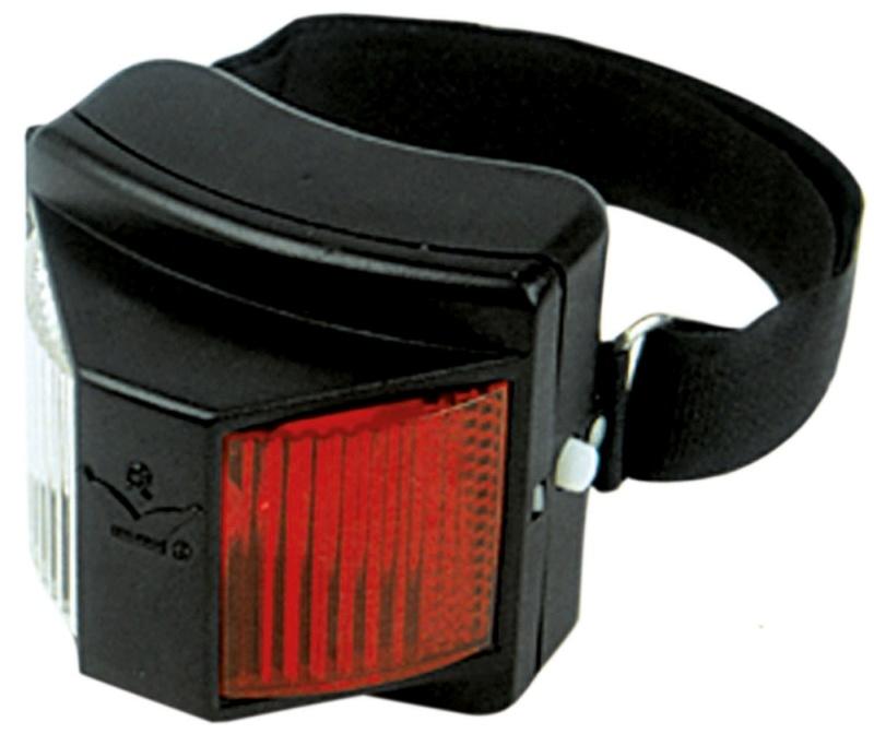 BUSSE Reflektor-Lampe SAFETY, rot/weiß