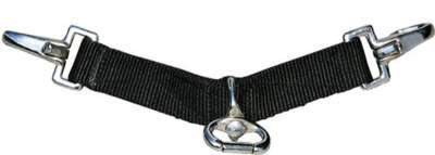 HKM Longierbrille -Nylon-, schwarz
