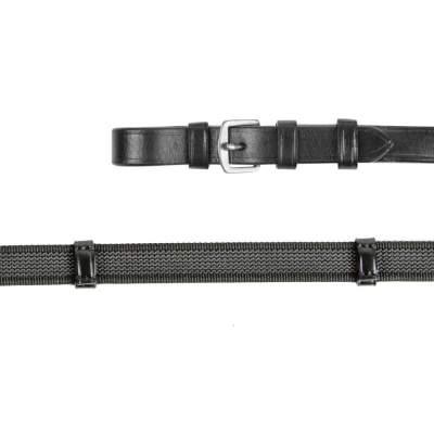 WALDHAUSEN X-Line Anti-Slip-Zügel, schwarz