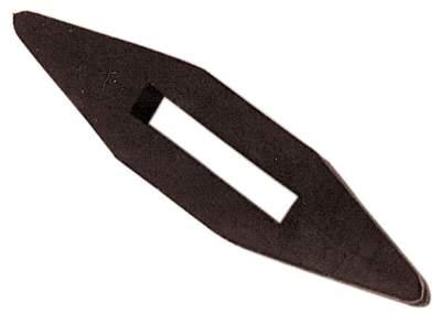 BUSSE Martingalschieber GUMMI, Stück, schwarz