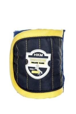 HKM PRO-TEAM Polarfleecebandagen -Flash-, Länge 200 cm, dunkelblau/kornblau