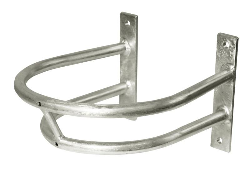 KERBL Schutzbügel für Tränkebecken, Groesse 1, Tiefe: 30 cm, Breite: 24 cm Höhe inkl. Montageplatte