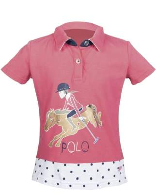 LITTLE SISTER by HKM Poloshirt -Santa Fe-