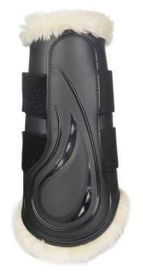 HKM Dressurgamaschen -Comfort- mit Schlagschutz