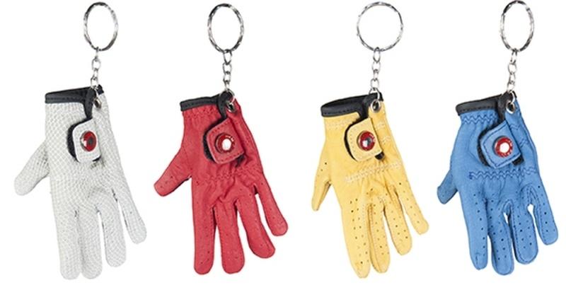 HKM Schlüsselanhänger -Mini-Handschuh-, farblich sortiert