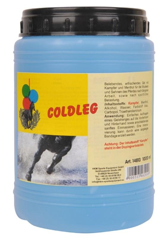 HKM Coldleg, erfrischendes Gel 1L, 1000 ml