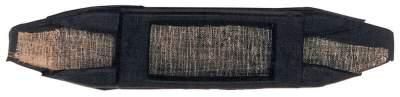 BUSSE Kinnkettenunterlage GUMMI, 14,5 x 3 cm, schwarz