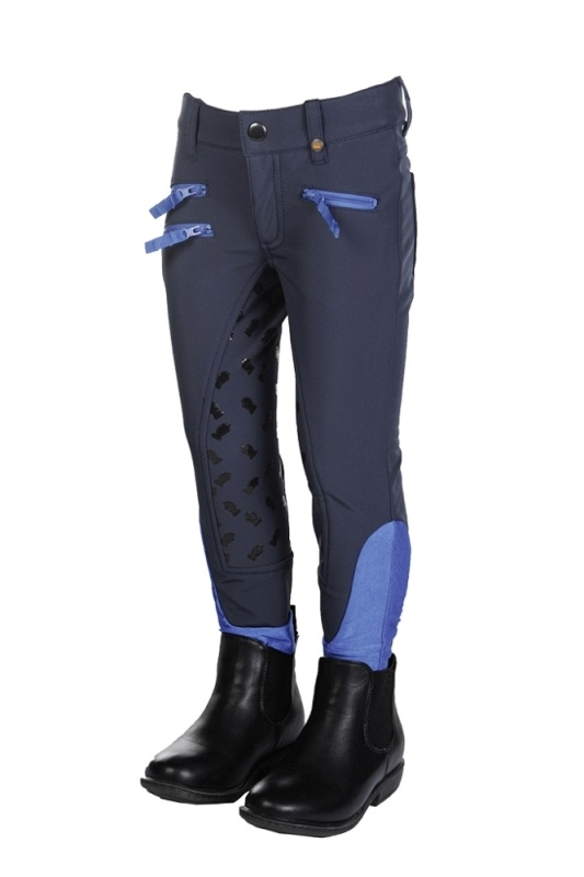 KING by HKM Softshell Reithose -King Clyde- Silikon-Vollbesatz