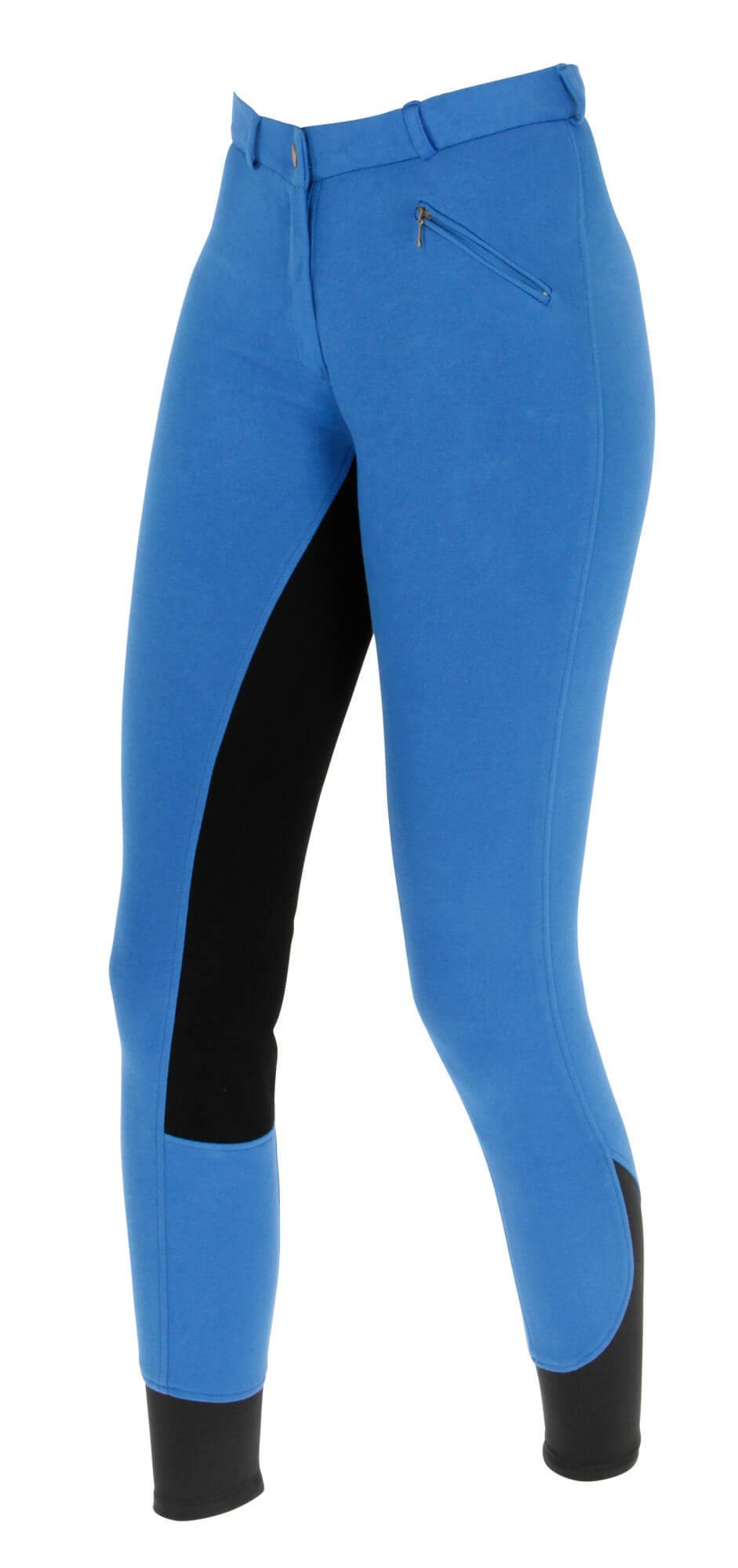 Reithandschuhe Hose MEGA Größe 34 36 38 40 42 Damen Vollbesatz Reithose blau