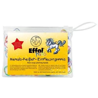 Effol Kids Niemals-Reißer-Einflechtgummis, 400 St