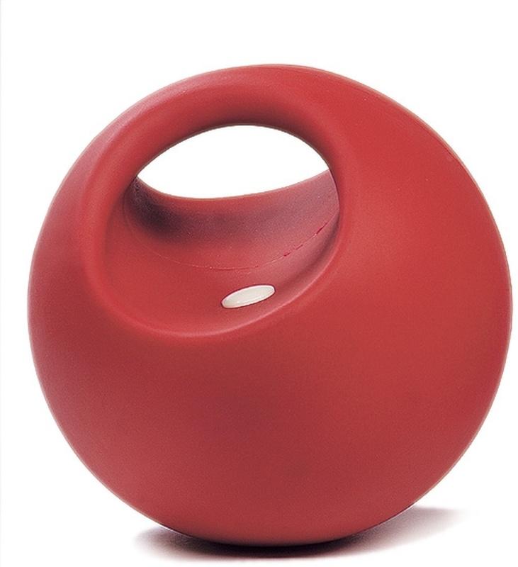 USG Spielball, rot mit Griff, robust