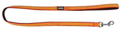 KERBL Leine reflektierend, Länge 100 cm, Breite 15 mm, schwarz/orange