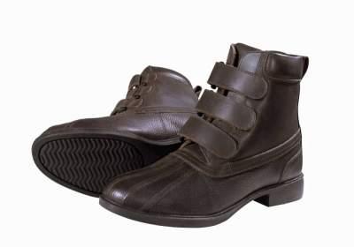 PFIFF Stiefelette Steyr, Schuhgrösse 43, braun