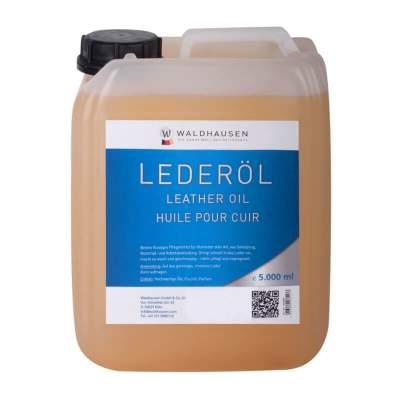 WALDHAUSEN Lederöl hell, flüssig, 5 l, 5000 ml, hell
