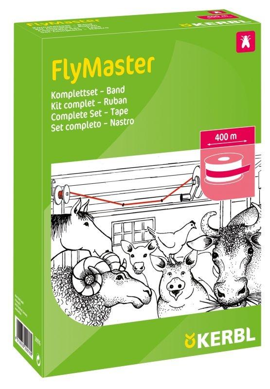 KERBL Stallfliegenfänger FlyMaster Band, Komplettset, 400 m