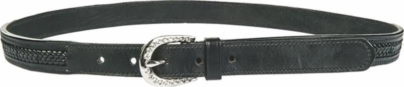 HKM Gürtel -Lia- 25 mm breit, Länge 87,5-97,5 cm, schwarz