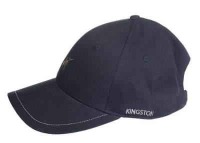KINGSTON by HKM Schirmmütze -San Lorenzo-, graphit
