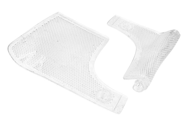 ACAVALLO® Bandagen-Unterlagen GEL, vorne, 27 x 25 cm, transparent