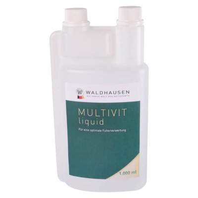 WALDHAUSEN Multi-Vit - Zur Aufwertung der Futterration, 1 l, 1000 ml