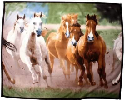 HKM Tagesdecke aus Fleece -Herde-