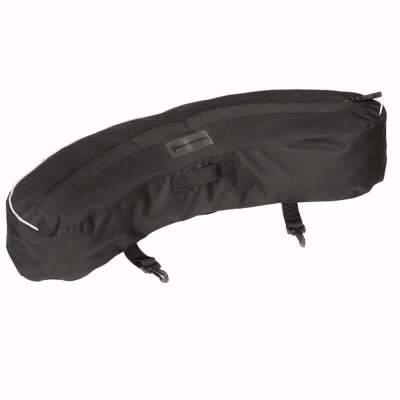 WALDHAUSEN Packtasche Reflex Banane, schwarz