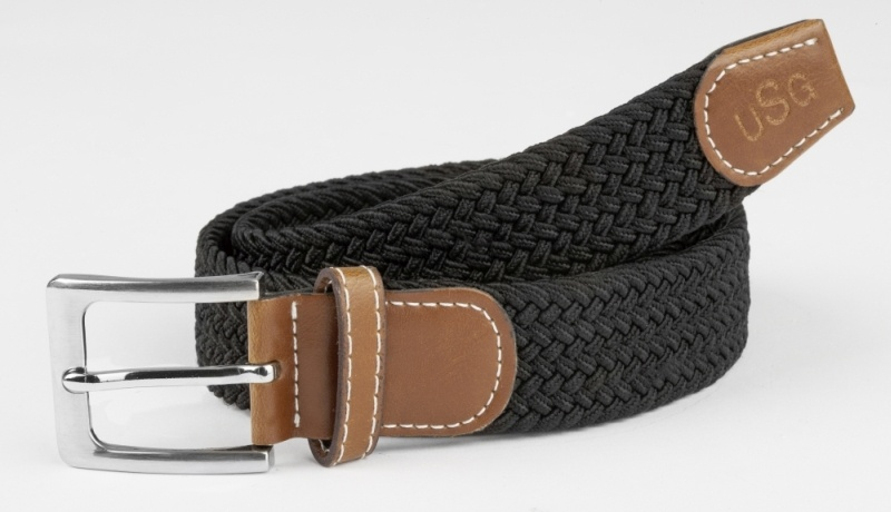 USG Gürtel Casual geflochtes, elastisches Material