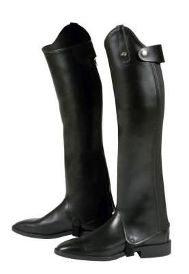 PFIFF Stiefelschäfte mit Gummizug, Grösse 2: Weite= 34, Höhe= 48, schwarz
