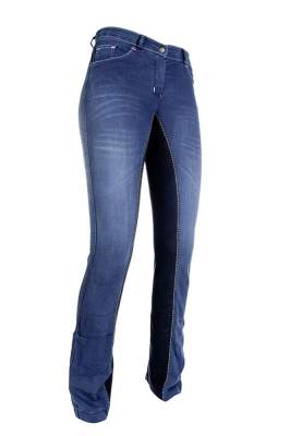 HKM Jodhpur Reithose -Summer Denim-