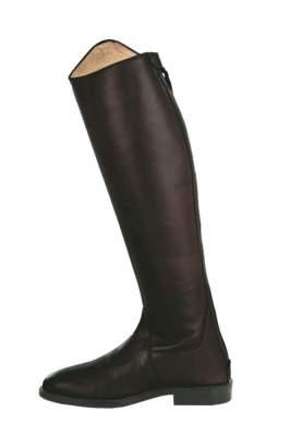 HKM Reitstiefel -Vareno- Langlänge/schmale Weite, Schuhgrösse 37: Weite= 34 Höhe= 46, schwarz