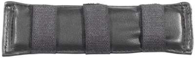 BUSSE Kinnkettenunterlage GEL, 16 x 4 cm, schwarz