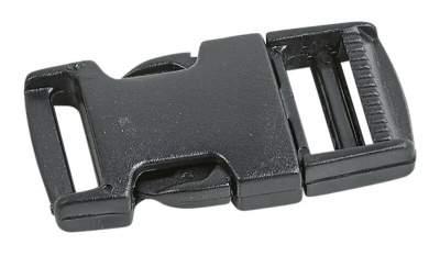 BUSSE Steckverschluss für Abschwitzdecken, schwarz