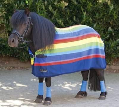 HKM Abschwitzdecke -Rainbow-