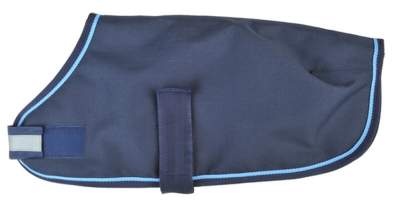 HKM Hunderegendecke, Rückenlänge 36 cm, dunkelblau