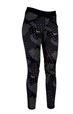 HKM Reitleggings -Fancy- Silikon-Kniebesatz