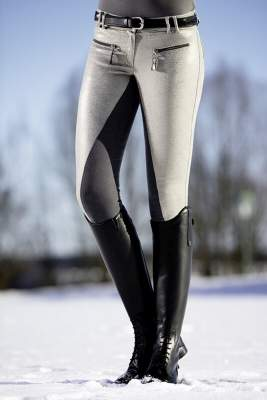 Lauria Garrelli by HKM Reithose -Scotland- stylish, Dreiviertel Alos Besatz