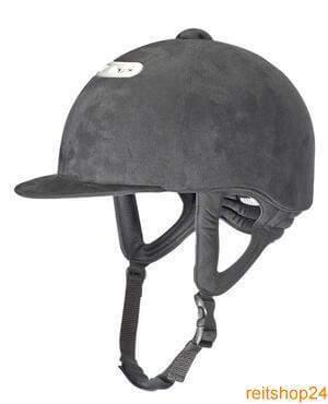 Reithelm AERO WAVE, Helmgrösse 60, schwarz/silber