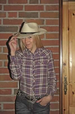 HKM TEXAS Westernbluse -Texas Fashion-