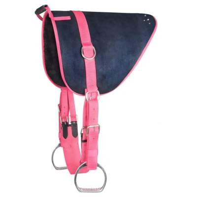 WALDHAUSEN Bare Back Pad Unicorn, Shetty, nachtblau/azalee