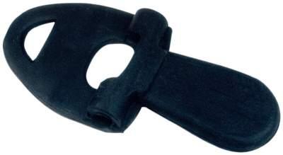 BUSSE Zungenstrecker, 5 x 2-1/4 inch, schwarz