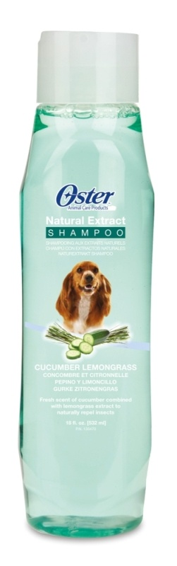 OSTER Natural Extract Shampoo Gurke/Zitronengras, 532 ml