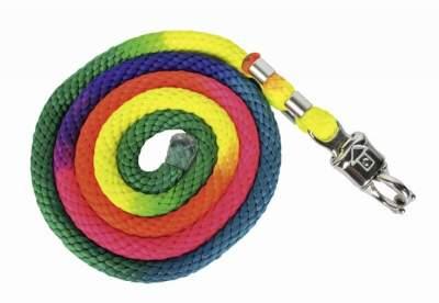 HKM Strick -Multicolor- mit Panikverschluss, Länge 180 cm, bunt