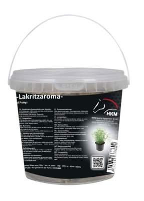 HKM Pferde-Leckerli -Lakritz- im Eimerchen 750 g, 750 g