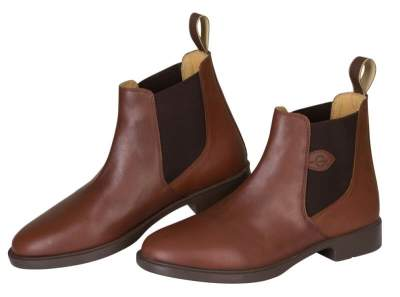 COVALLIERO Reitstiefelette Leder Classic