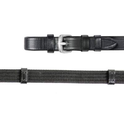 WALDHAUSEN X-Line Gurtzügel, extra lang, Warmblut, schwarz