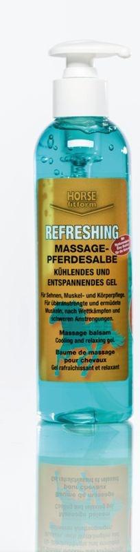 HORSE fitform® Kühlgel REFRESHING Massage-Pferdesalbe, 250 ml
