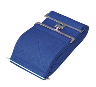 HKM Elastikdeckengurt, dunkelblau