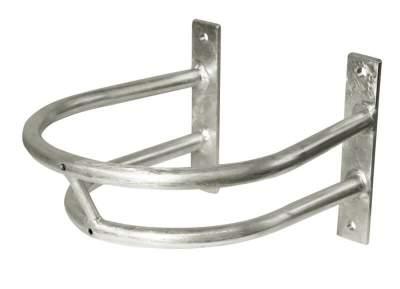 KERBL Schutzbügel für Tränkebecken, Größe 1, Tiefe: 30 cm, Breite: 24 cm Höhe inkl. Montageplatte: