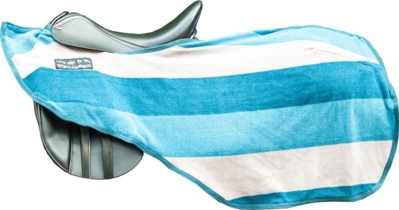 HKM Nieren Abschwitzdecke -Colour stripes- mit Klett